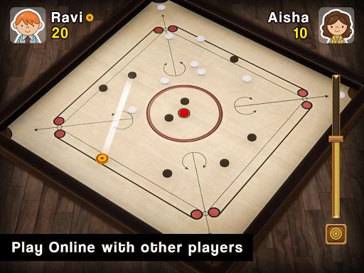 Carrom Multiplayer - 3D Carrom Board Game 1.4 Screenshots 1