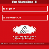 First Alliance Bank (Z) Ltd