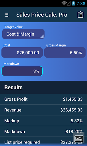 Sales Calculator Pro