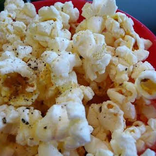 Ellen's Yummy No-Salt Popcorn.