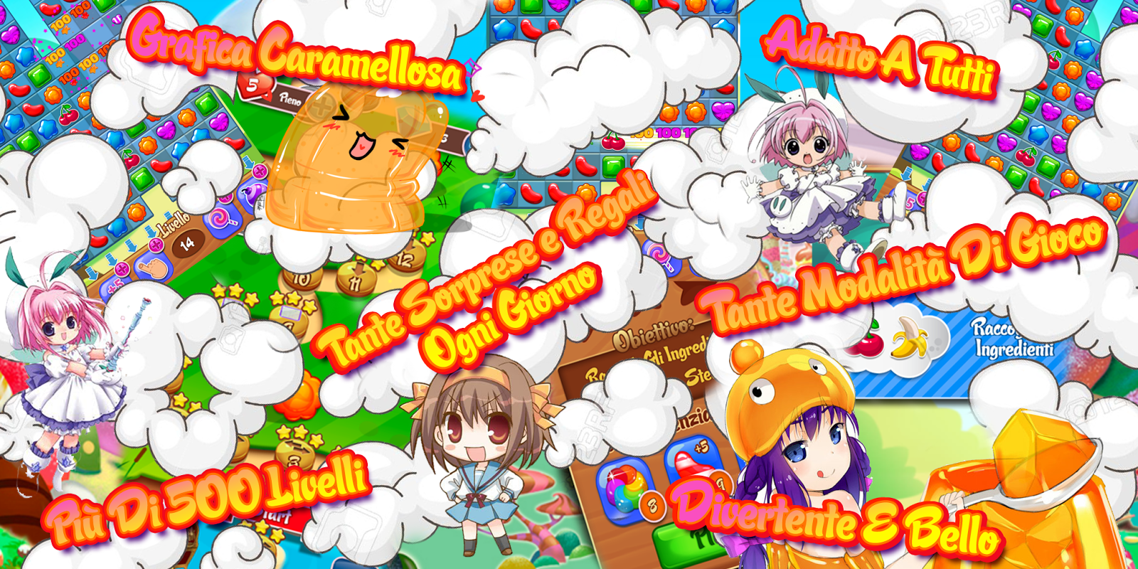 Download Choco Garden Saga ITA APK Mod APK Obb data 14 by