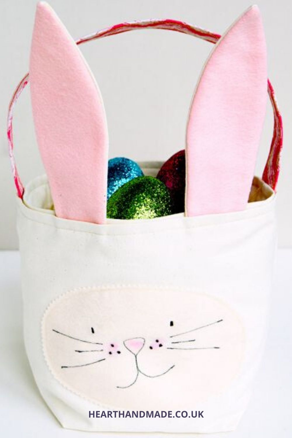 Sew an Easter Bunny Basket