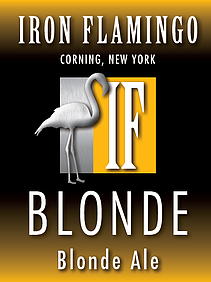 Logo of Iron Flamingo Blonde