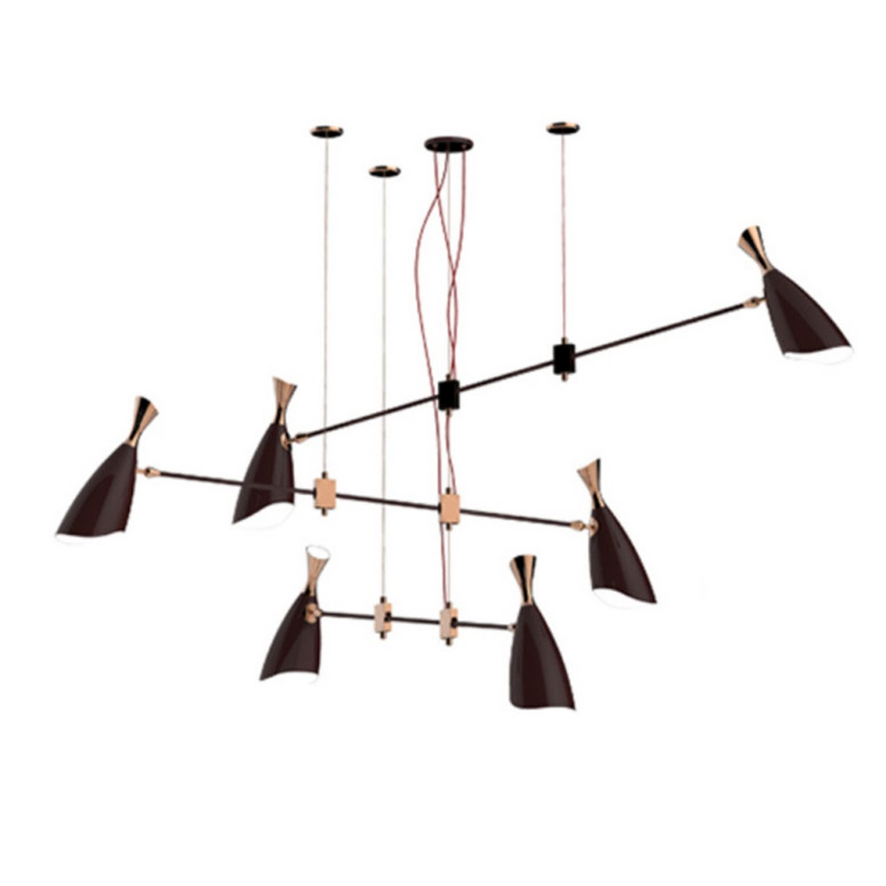DUKE SUSPENSION CHANDELIER | DESIGNER REPRODUCTION