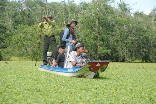 Vườn quốc gia Tràm Chim mùa nước nổi 2