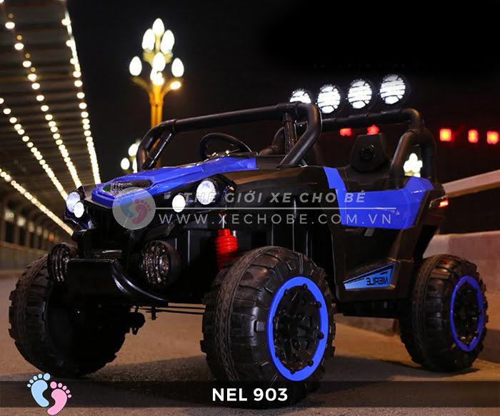 Xe ô tô điện địa hình NEL-903 4 động cơ 13