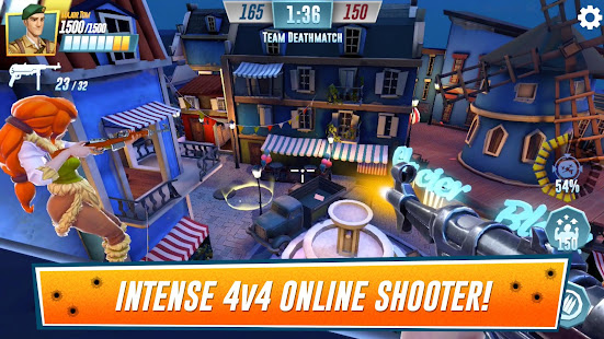 Heroes of Warland – PvP Shooting Arena 16