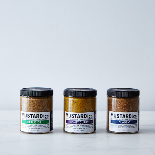 Small Batch Mustards (3-Pack)