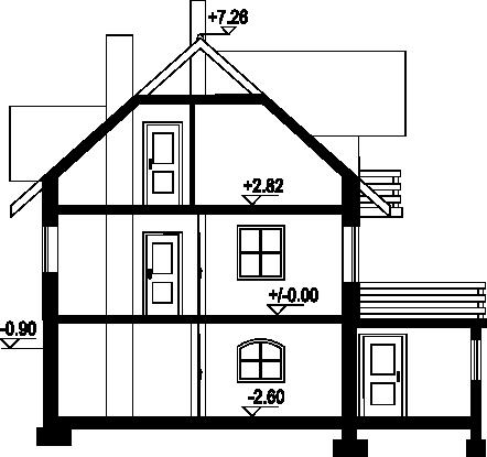 Jaworzynka nowa - Przekrój