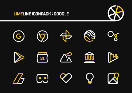 LimeLine Icon Pack : LineX v1.5 [Patched] 2