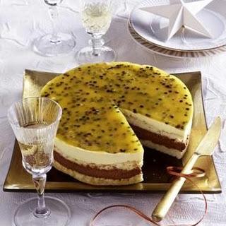 Schoko-Passionsfrucht-Torte