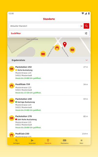 DHL Paket  screenshots 22