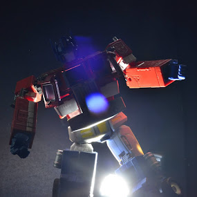 Dancing Optimus Prime by Monico Montero - Artistic Objects Toys