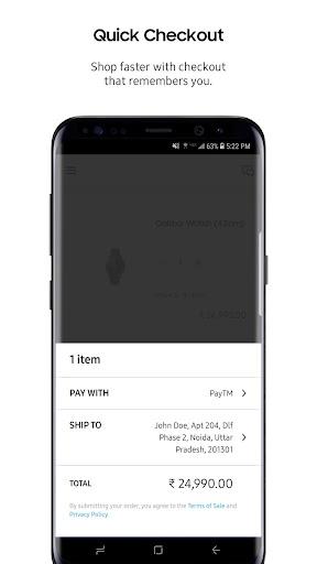 Samsung Shop screenshot 6