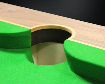 Spartan Pool Table Middle Pocket
