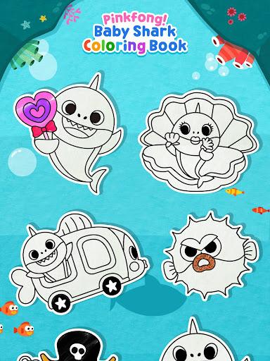 Pinkfong Baby Shark Coloring Book screenshot 15