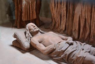 Photo: Il Cristo morto