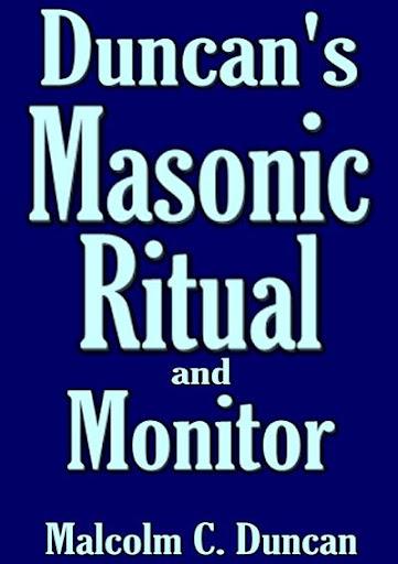 Duncan's Masonic Ritual