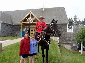 Photo: The next day was Prince Edward Island - this was the info center near Green Gables