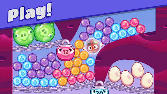Angry Birds Dream Blast - Toon Bird Bubble Puzzle Screenshot