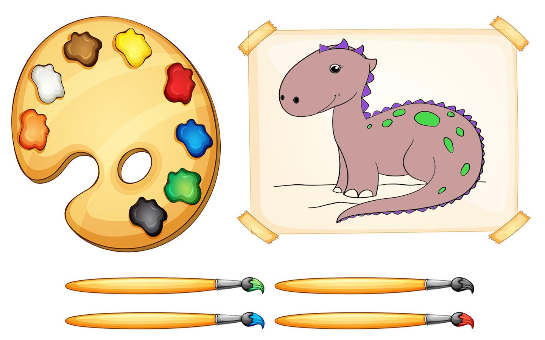 libro de colorear dino: dinosaurios - Aplicaciones de Android en ...