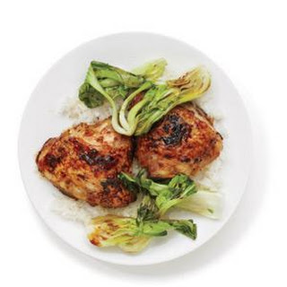 Teriyaki Chicken With Bok Choy