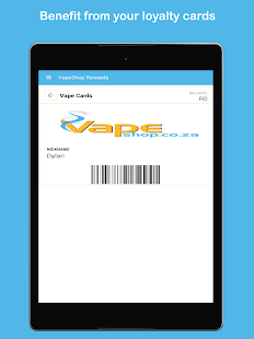 VapeShop Rewards- screenshot thumbnail
