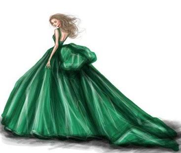 Fashion Design Flat Sketch - náhled