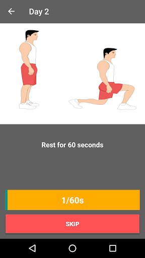 30 Day Legs Workout Challenge  screenshots 7