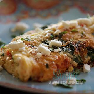 Garden Fresh Feta Omelet