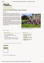 Photo: 2014-06-20 NR Les 6 e de Charles-Péguy visitent l'Irlande