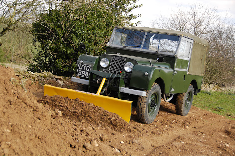 The Land Rover was conceived as a utility vehicle.