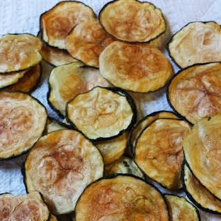 Baked Zucchini Chips.