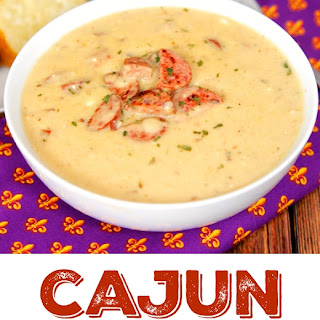 Slow Cooker Cajun Potato Soup.