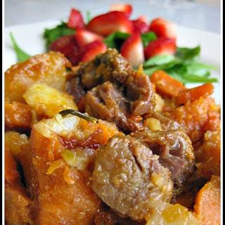 Braised Veal Shank Hash