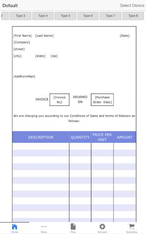 Invoice Pro Screenshot