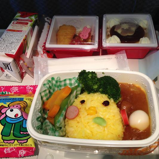 JAL941の機内食