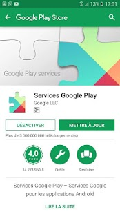 Play Services Fix Utility - náhled