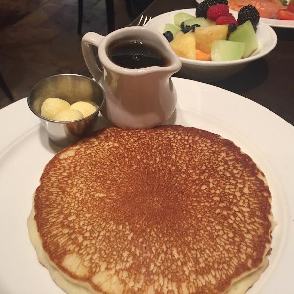Gluten free pancake. Delicious!