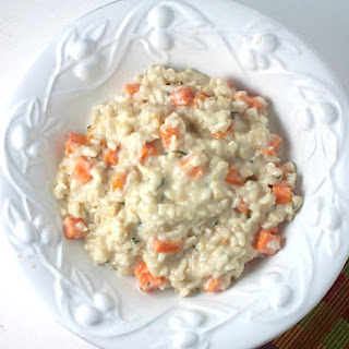Butternut Squash, Goat Cheese and Sage Risotto.