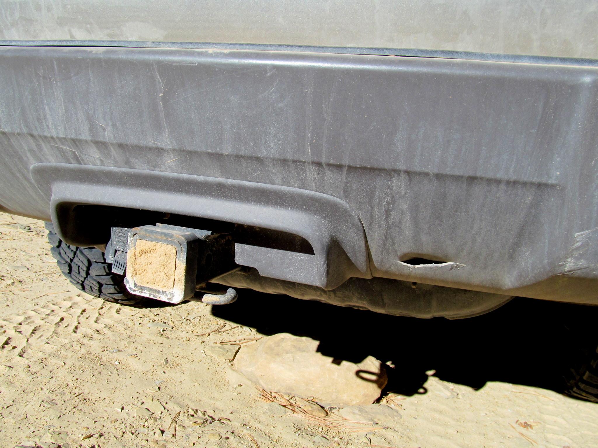 Photo: Damage to my bumper