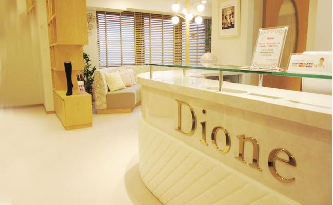 ディオーネの店内画像