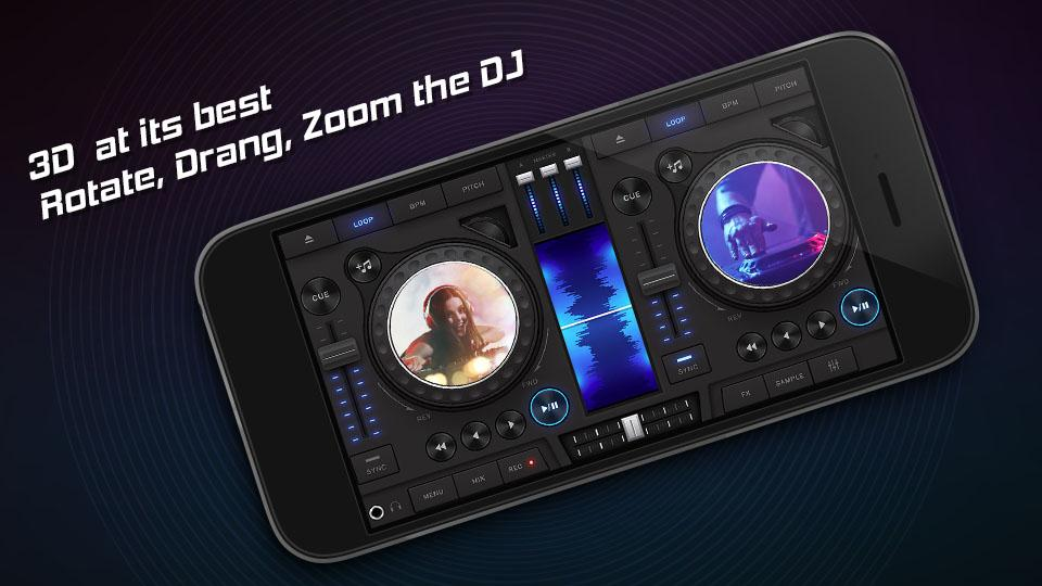 3D DJ Mixer Music- screenshot