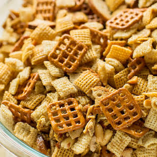 Homemade Chex Mix.