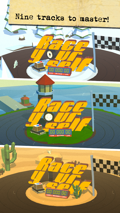 Race Yourself Free- screenshot