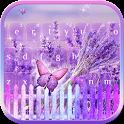 Lilac Lavender Keyboard theme icon