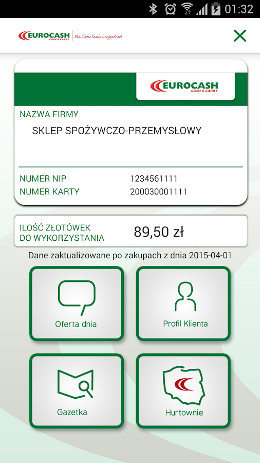 Eurocash cash carry android apps on google play for Europeanhome com