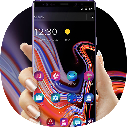 Classy Black Theme for Galaxy Note9 file APK Free for PC, smart TV Download