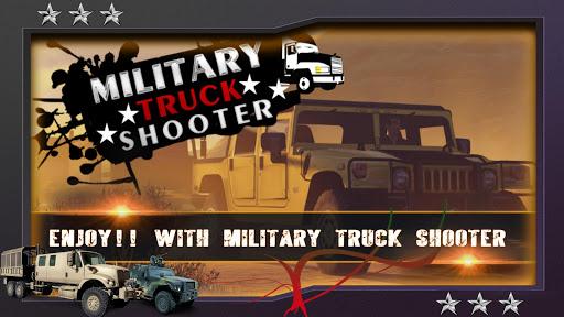 軍用トラックシューター攻撃: Truck Shooter