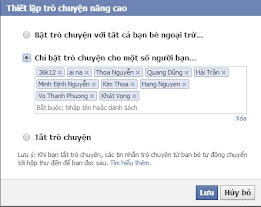 offline facebook voi mot so nguoi